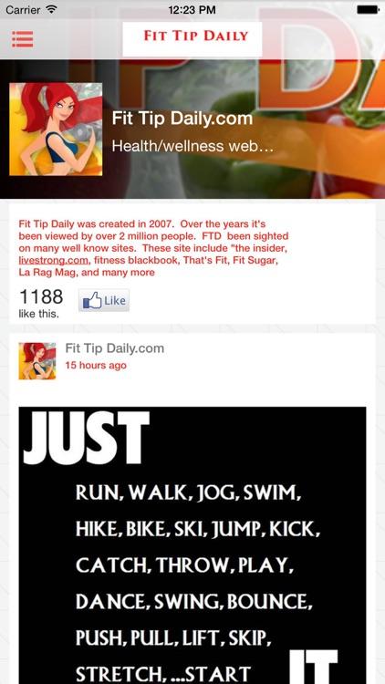 Fit Tip Daily screenshot-3