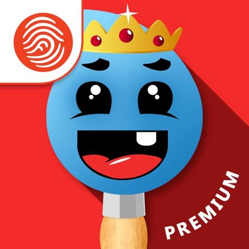 Fingerpainting for Kids: Premium