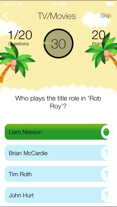 Answer My Questions Screenshot on iOS