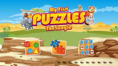 My first jigsaw Puzzles : Animals from Jungle and Savanna [Free