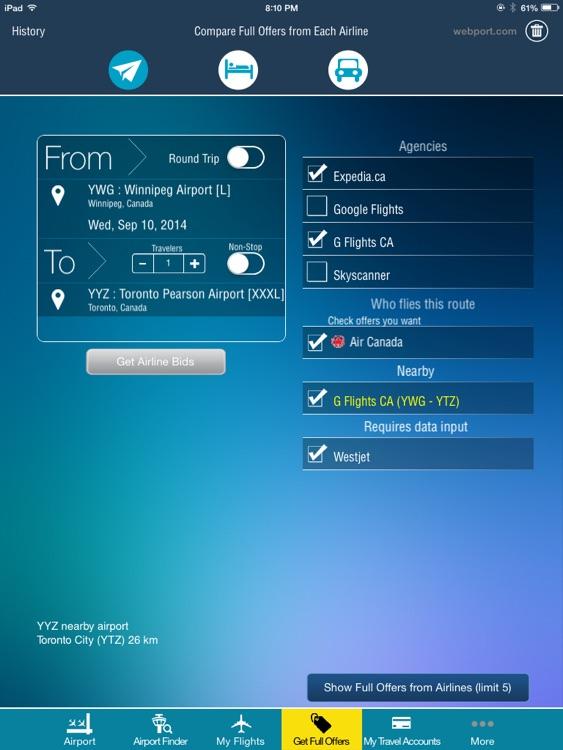 Winnipeg Airport HD + Flight Tracker Premium air YWG Canada screenshot-3