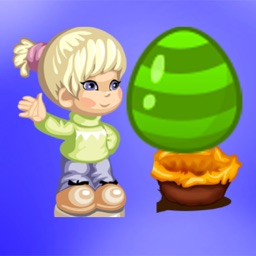 Girl Bubble Shooter Egg : Free Match Shooting Lucky Games