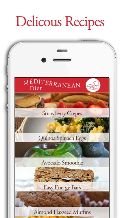 Mediterranean Diet App screenshot-1