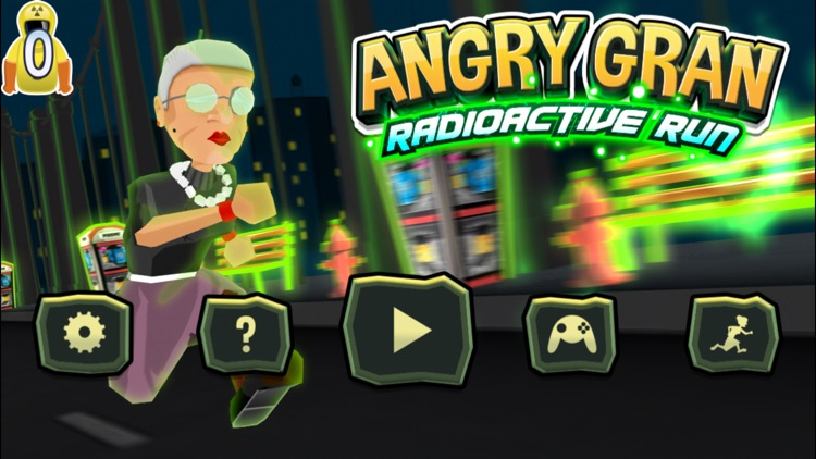 Angry Gran Radioactive Run screenshot-0