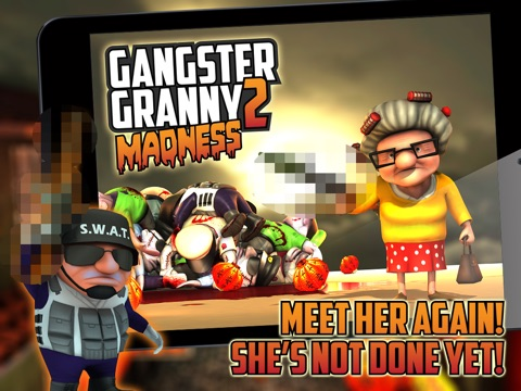 Gangster Granny 2: Madness Screenshot