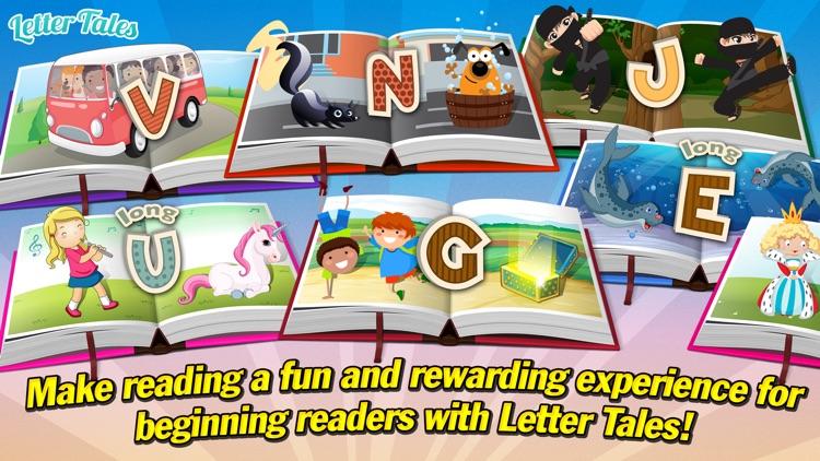 Letter Tales Lite - Fun Children's Stories to Practice Reading screenshot-4