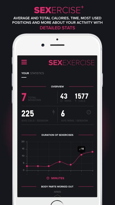 sexercise+のおすすめ画像2