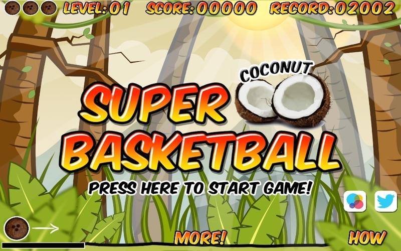 Super Coconut Basketball screenshot 1