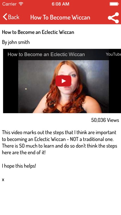 Wicca Guide - Complete Video Guide screenshot-3