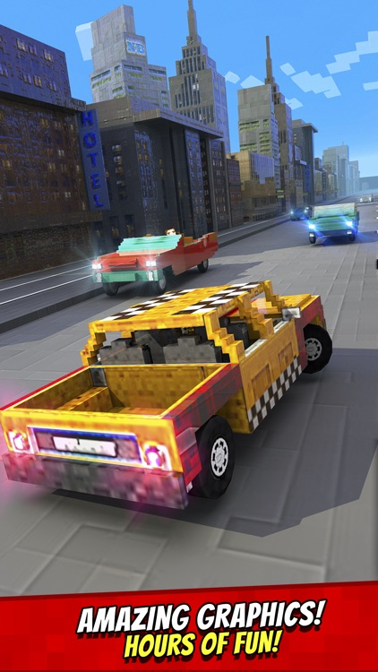 Taxi Survival . Mine Driver Exploration Racing Game For Kids Free screenshot-3