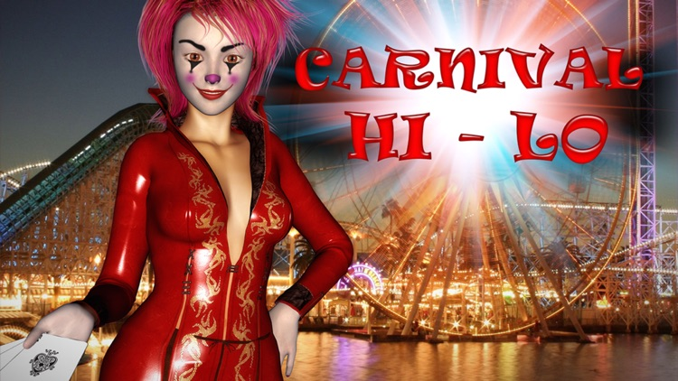 """A+"" Evil Carnival HiLo Solitaire Best Classic Social Real Fun Cards Game With Friends Pro"