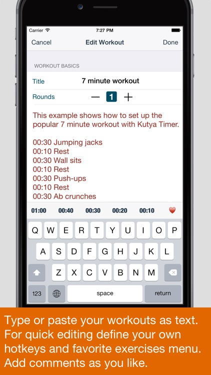 Kutya Timer - HIIT & Intervals screenshot-1