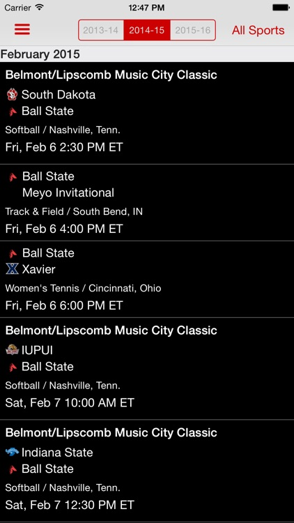 Ball State Sports screenshot-3