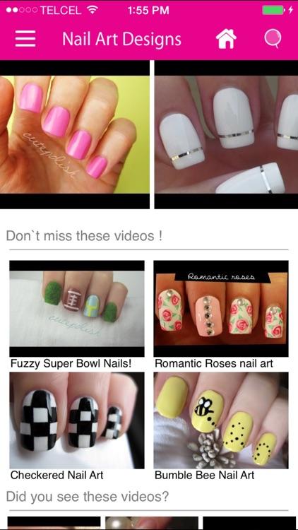 Nail Art Designs Videos