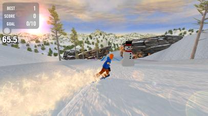 Screenshot from Crazy Snowboard Free