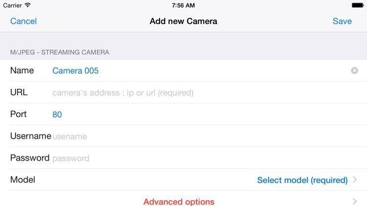 Foscam IP Camera Viewer screenshot-3