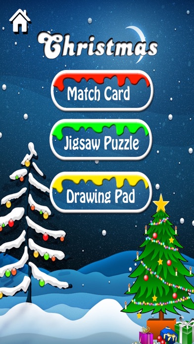 Christmas Games 3 in 1- Match Puzzle Jigsaw Puzzle and