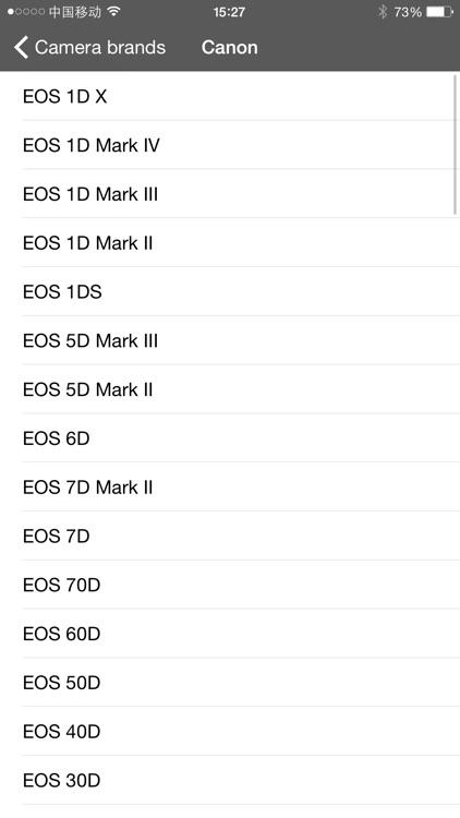 DOF-Calculator screenshot-3
