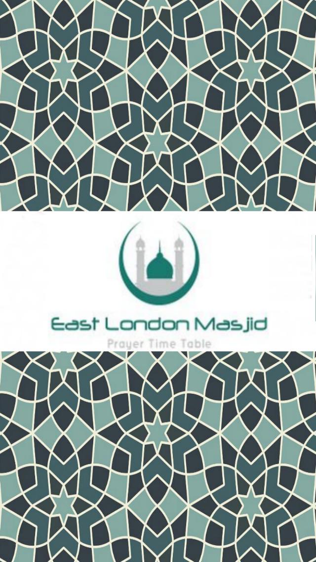 East London Masjid Prayer Time Table screenshot one