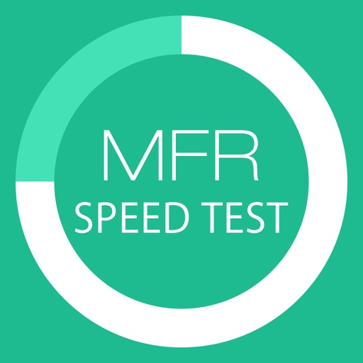 MFR Line speed measurement