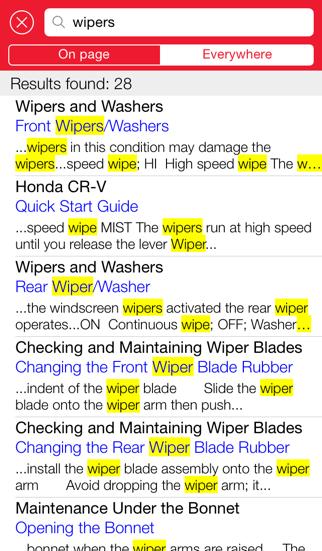 Honda iManualScreenshot of 5