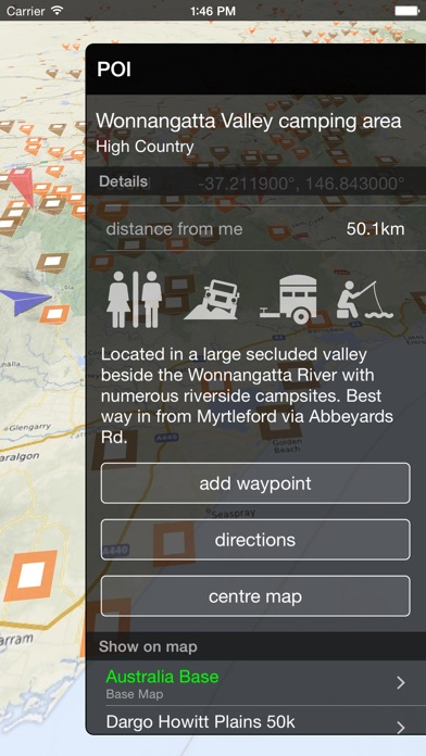 VMS Map Explorer | 4WD 3D Topo Offline Navigation screenshot three