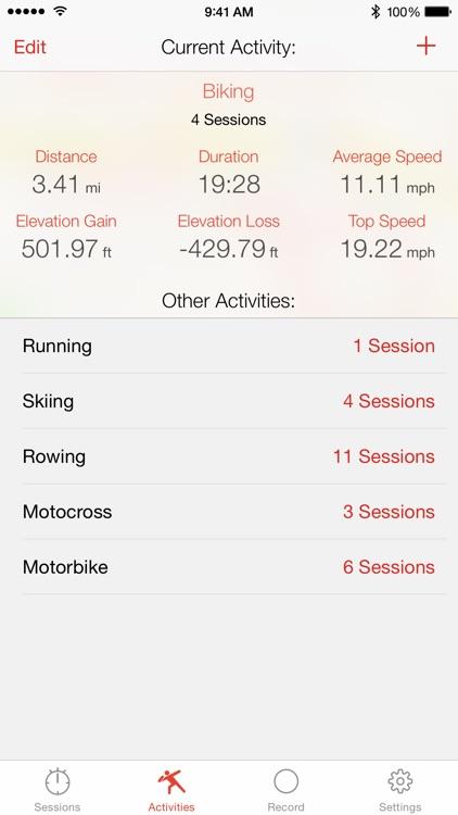 Crono - Sports GPS Tracker screenshot-4