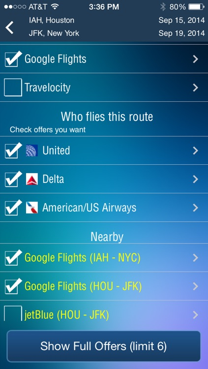 Houston Intercontinental Airport Flight Tracker HOU screenshot-3