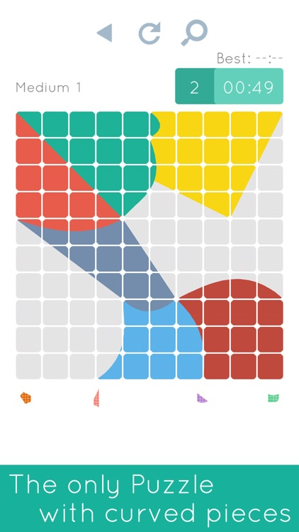 Blocks & Shapes: Color Tangram