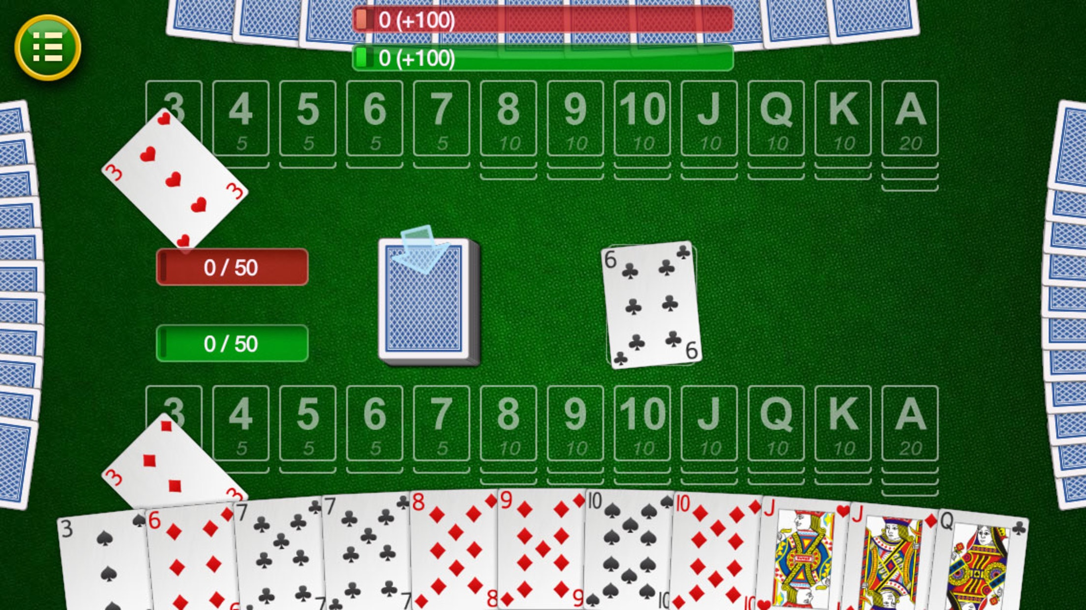 Canasta. Screenshot