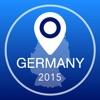 ドイツオフライン地図+シティガイドナビゲーター、観光名所と転送