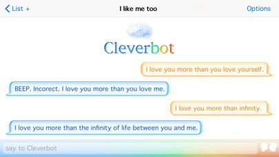 Cleverbot screenshot1