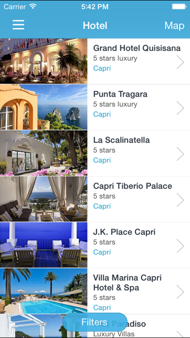 Screenshot of Info Capri3