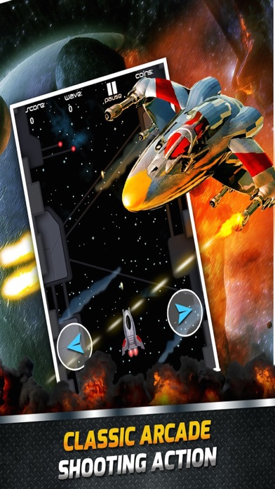 Air Combat Jet Star Ship War Space Shooter Games Free