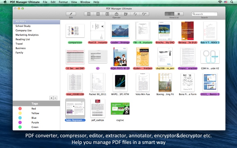 PDF Manager Ultimate Screenshots