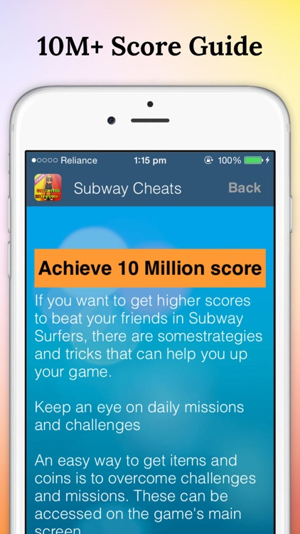 Guide for Subway Surfers Tips & Cheats screenshot-2