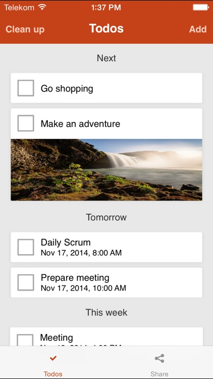 Todo Widget - Tasks, Reminders and Lists with Photos