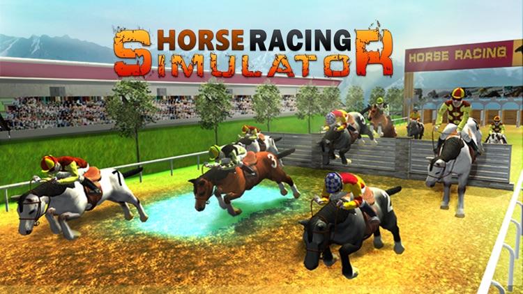 Horse Racing Simulator 3D – Virtual Horseback riding Game screenshot-3