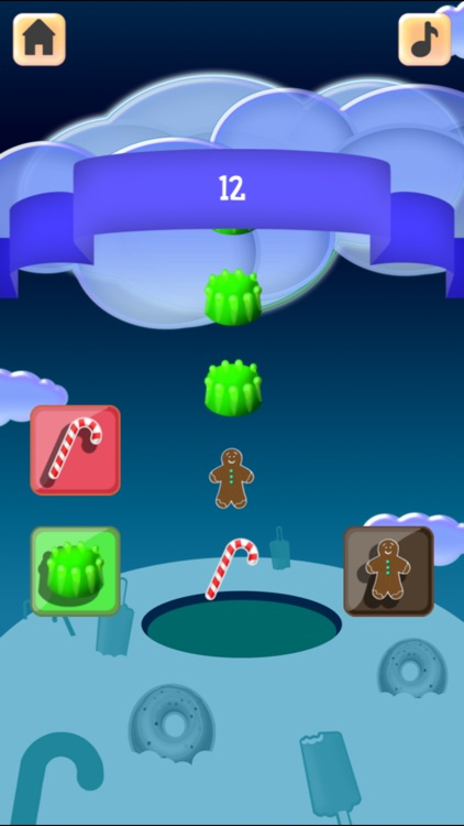 Sweet Cloudy Sorter: Sorting Brain Challenge for Kids and Adults
