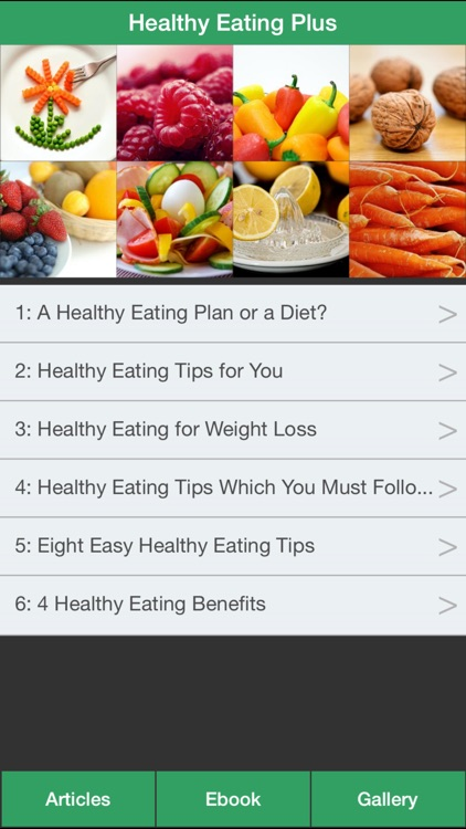 Healthy Eating Plus - Guide To Eat Right For Your Health!
