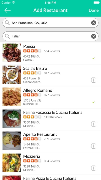 pick4me - Finding Restaurants & Food