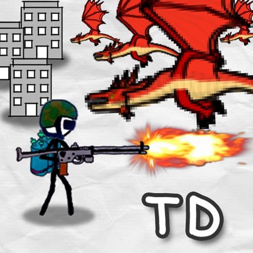 Doodle Wars 4 : Gun vs Sword