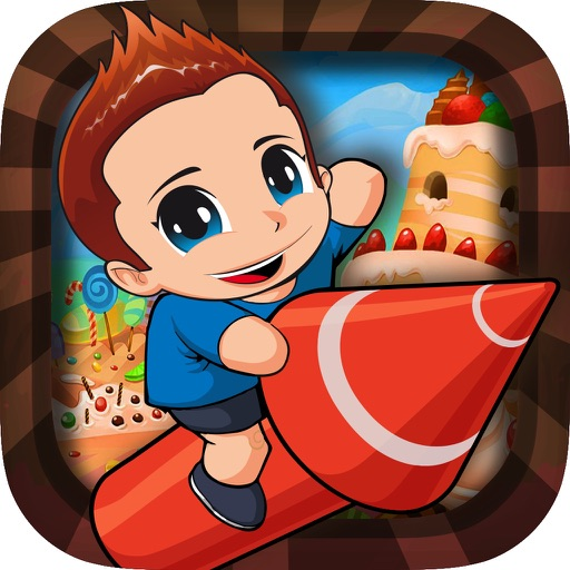 Super Boy Flying- A Chocolate World Tour Pro