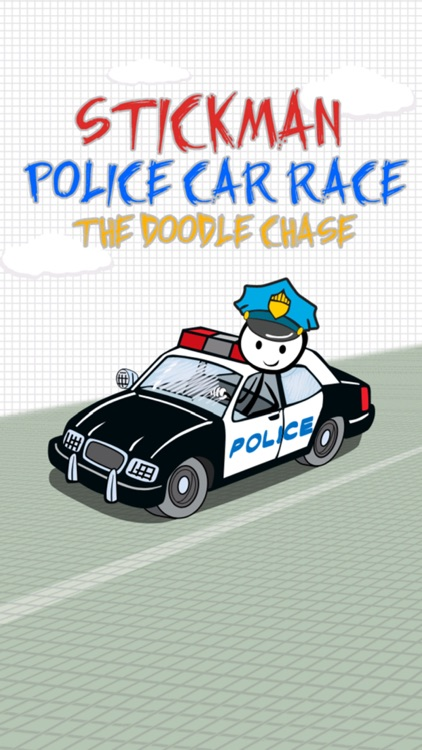 `Stickman Police Car Crime Chase Race: The Doodle Chase Racing Free by Top Crazy Games screenshot-0