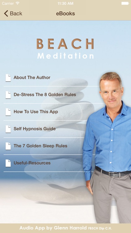 Beach Meditation by Glenn Harrold: Self-Hypnosis Relaxation for  Sleep screenshot-3