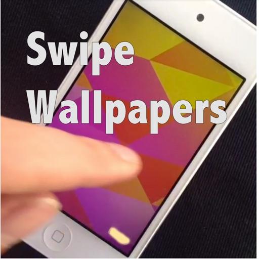 Swipe Wallpapers. Swipe to create unlimited wallpaper patterns