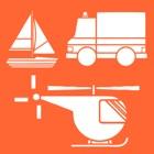 儿童交通工具的声音和拼图, 儿童喜欢的幼儿园汽车和交通工具游戏 icon