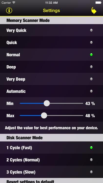 Smart Memory Pro - Check RAM & System Checker screenshot-3