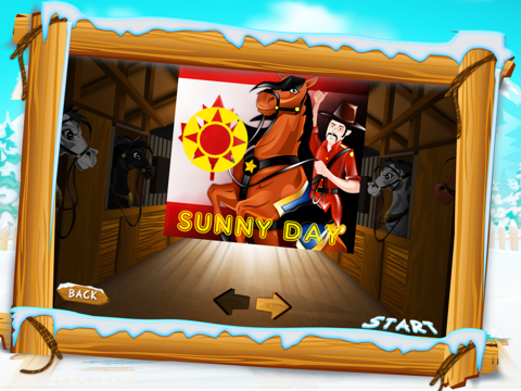 Canadian Mounted Police Horse Training : The Agility Test Racing Course - Free-ipad-2