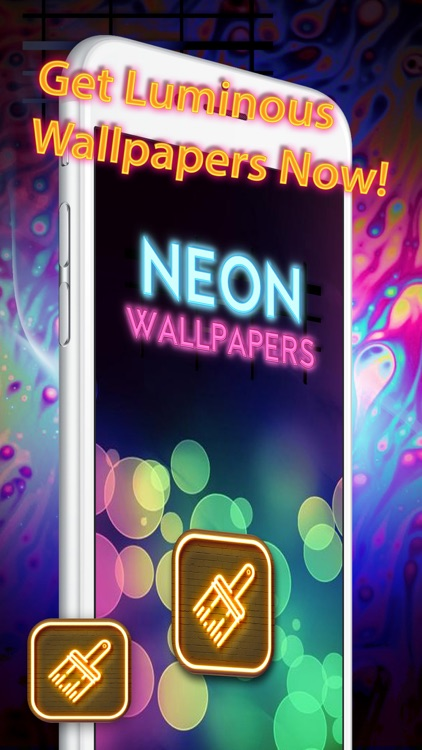 Cool Neon Wallpapers – Glowing and Sparkling Background.s for Retina Home Screen Free screenshot-4